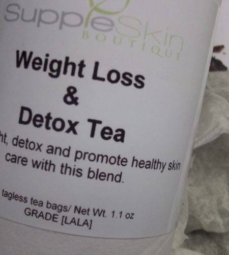 Weight Loss support &amp; Detox Tea- 14 teabags